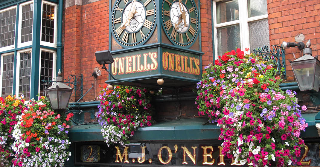 Pubs in Dublin, Irland