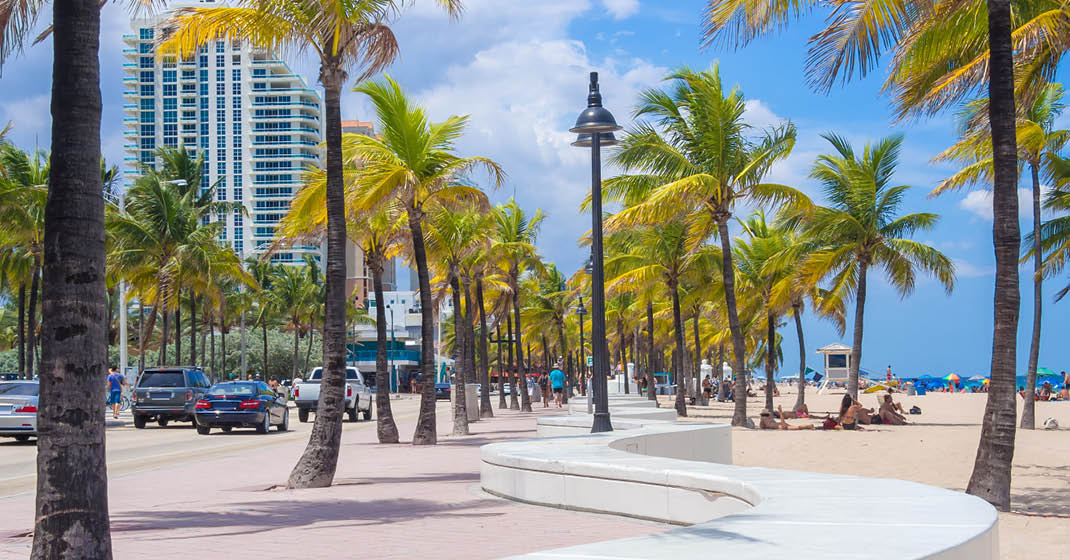 Hollywood Beach, Miami, USA