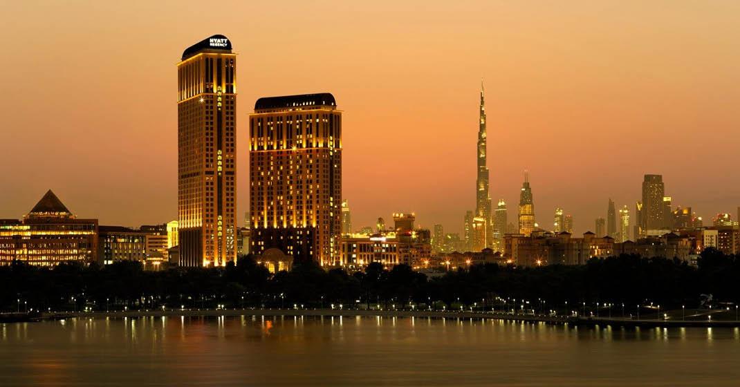 E_Dubai_Silvester_HYATT Regency Dubai Creek