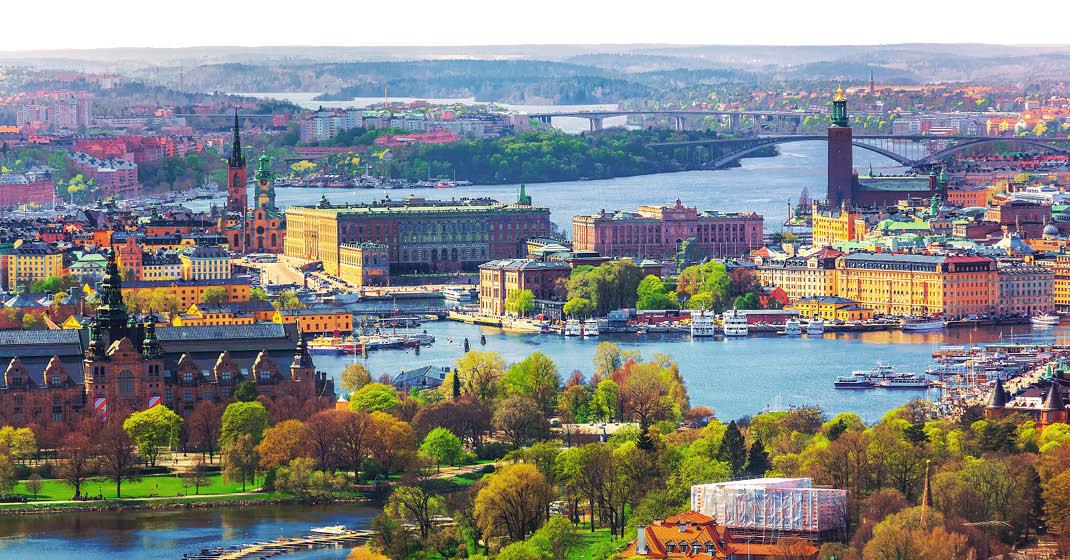 Schweden, Hauptstadt Stockholm