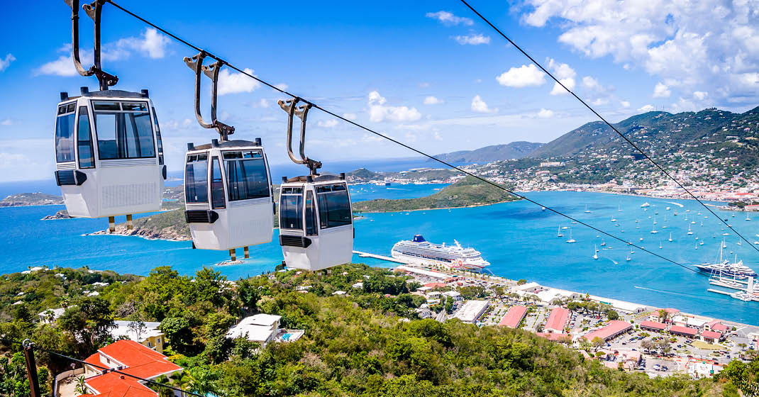 Port und Seilbahn, Charlotte Amalie, St. Thomas