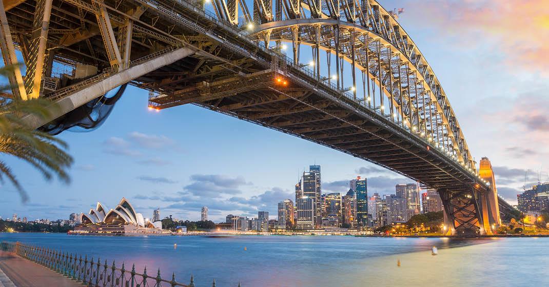 Australien, Sydney, Harbour Bridge