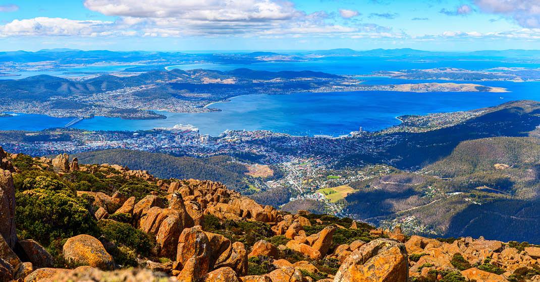 Hobart, Hauptstadt Tasmaniens