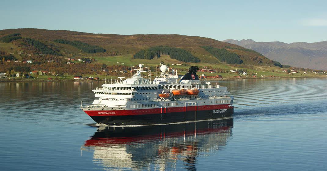 MS Nordnorge, Schiffsansicht