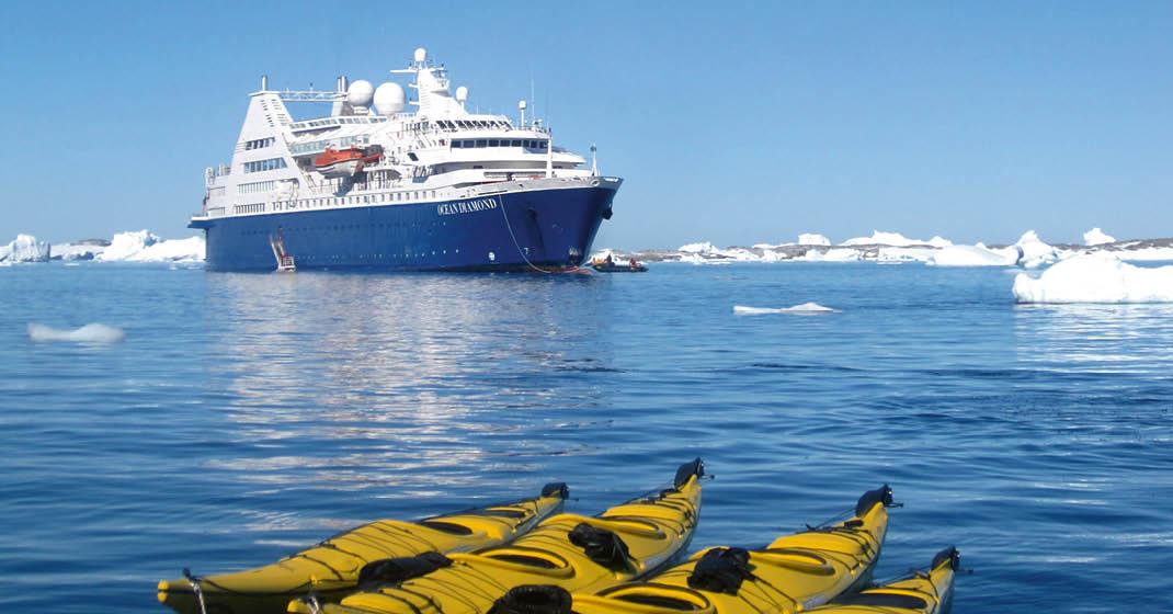 MS OCEAN DIAMOND, Schiffsansicht