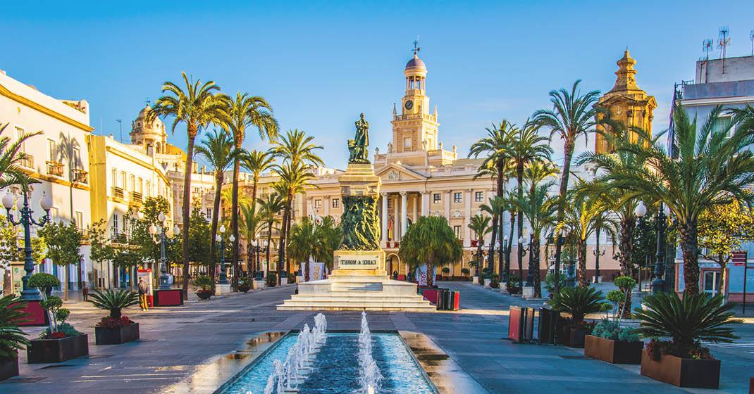 Cádiz, Rathaus am Plaza de San Juan de Dios
