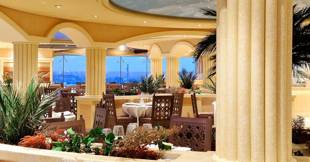 MSC Magnifica, Restaurant