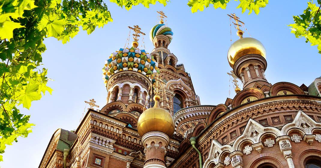St. Petersburg, Russland, Auferstehungskirche