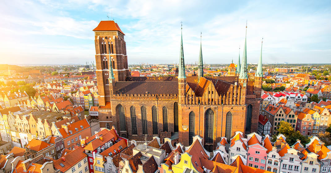 Danzig, Polen, Marienkirche