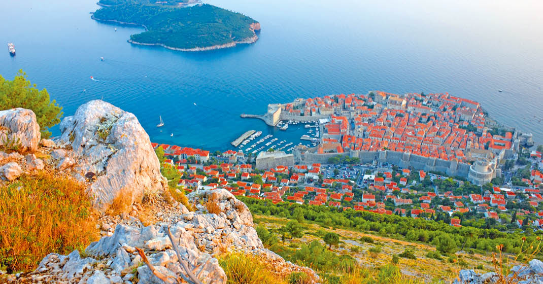 Kroatien, wunderschöne Küstenlandschaften