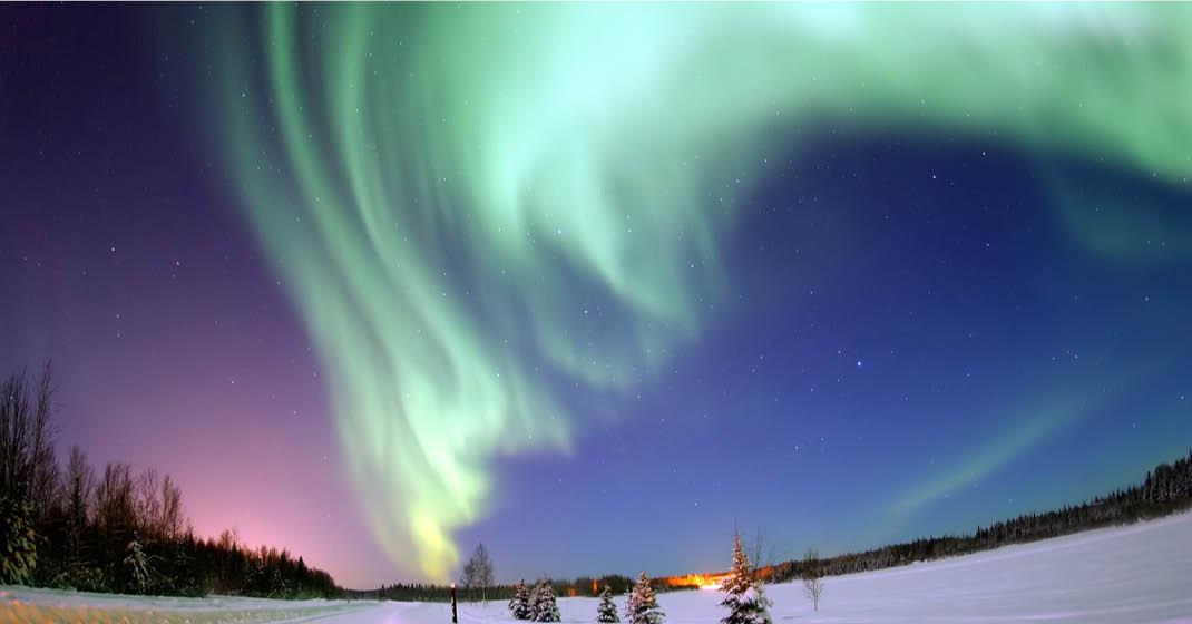 Nordisches Polarlicht