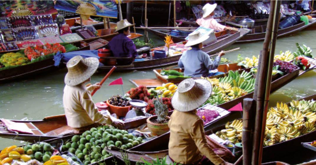 Thailand_Bangkok_schwimmender_Markt