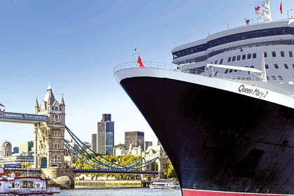 queen mary  420x280px - QUEEN MARY 2 & ROYALES LONDON – Schnupperkreuzfahrt