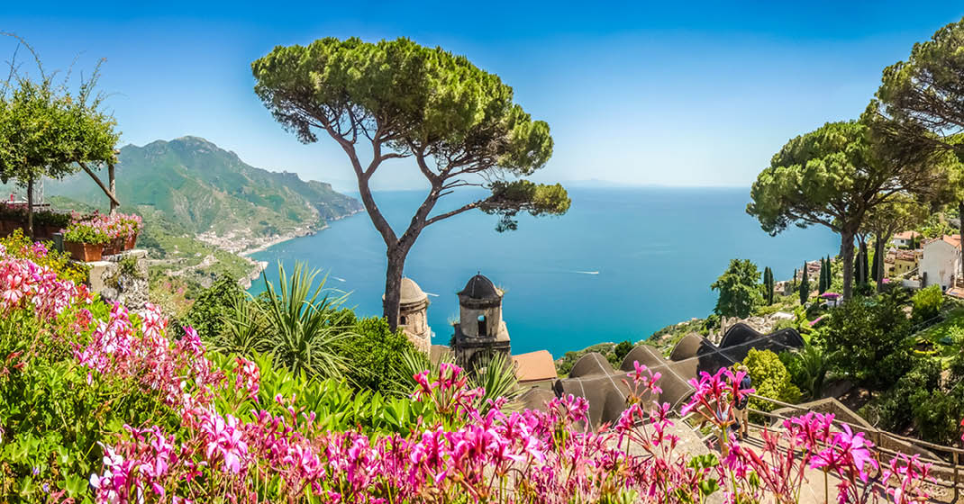 Golf_von_Sorrent_Panoramablick_Ravello