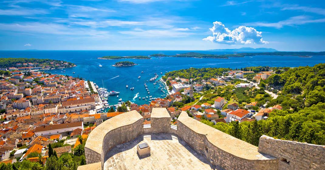 Kroatien Panoramablick