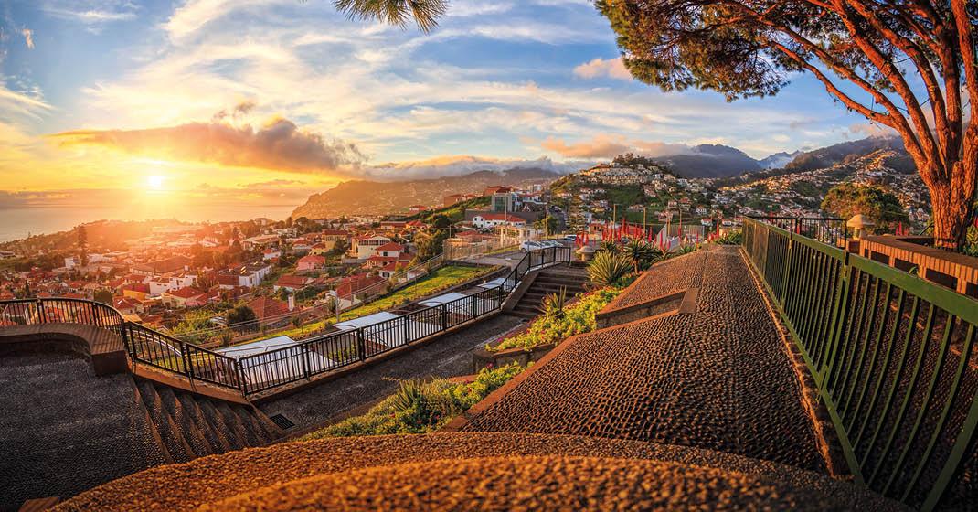 Madeira_Sonnenuntergang_Funchal