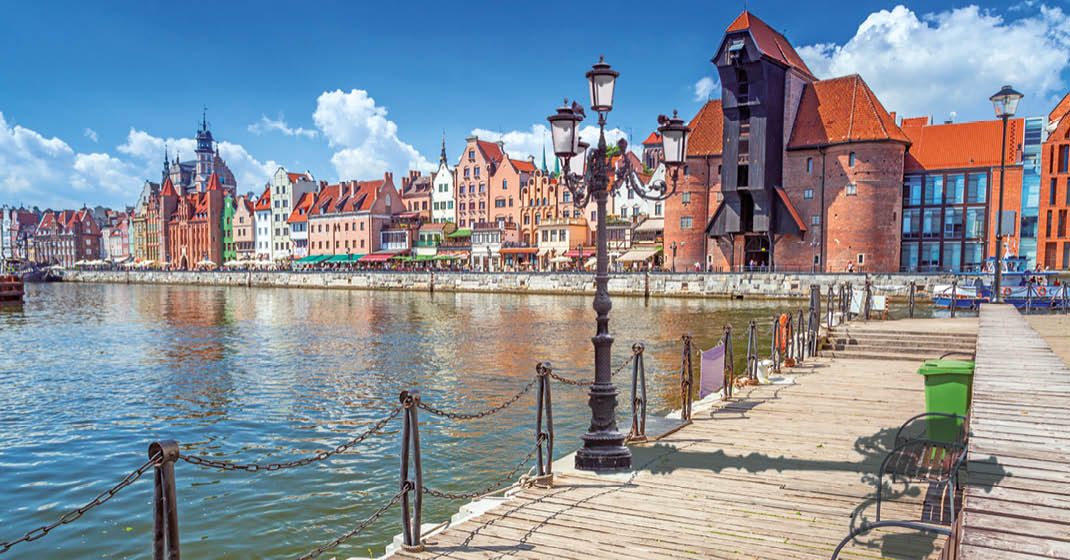 Polen_Masuren_Fluss-Motlawa-in-Gdansk