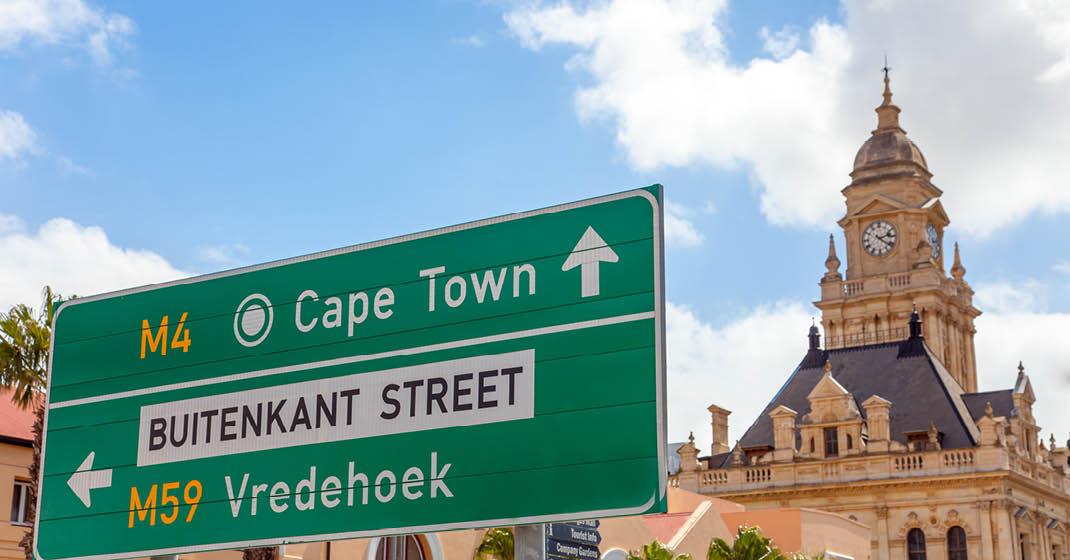 Südafrika_Wegweiser Kapstadt