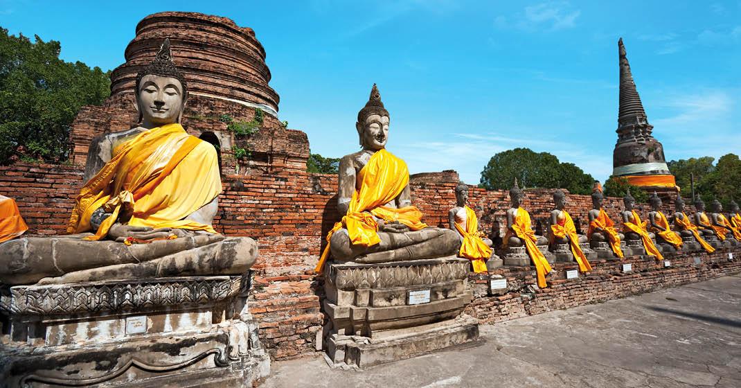 Thailand_Buddha_Statuen_Ayutthaya
