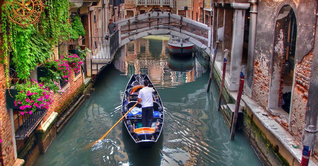 Venetien_Gondel in Venedig