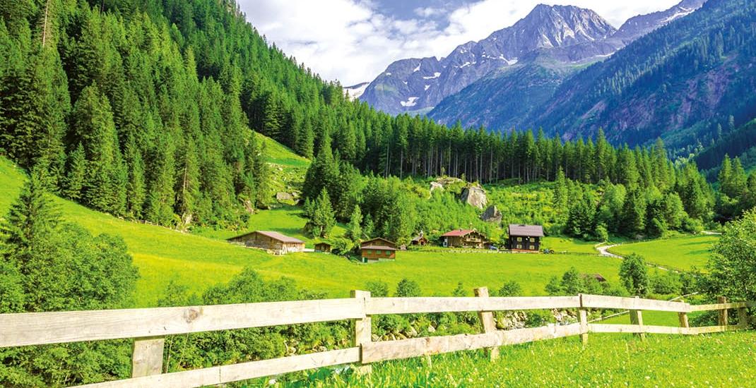 Zillertal_Bergpanorama