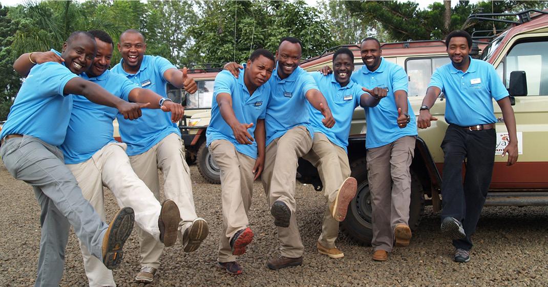 tansania_Team vor Ort