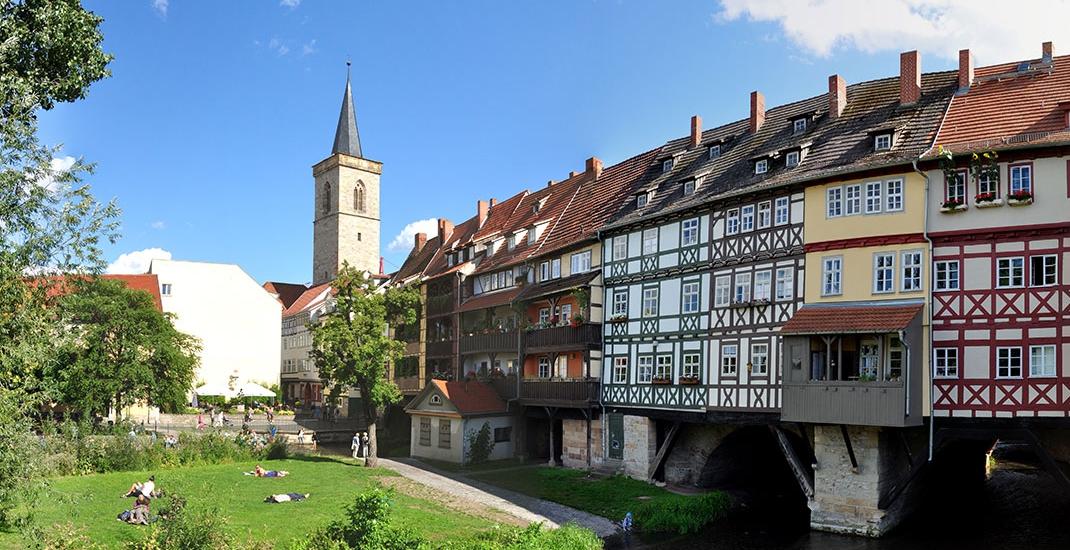 Luther_BU8503 Krämerbrücke Erfurt