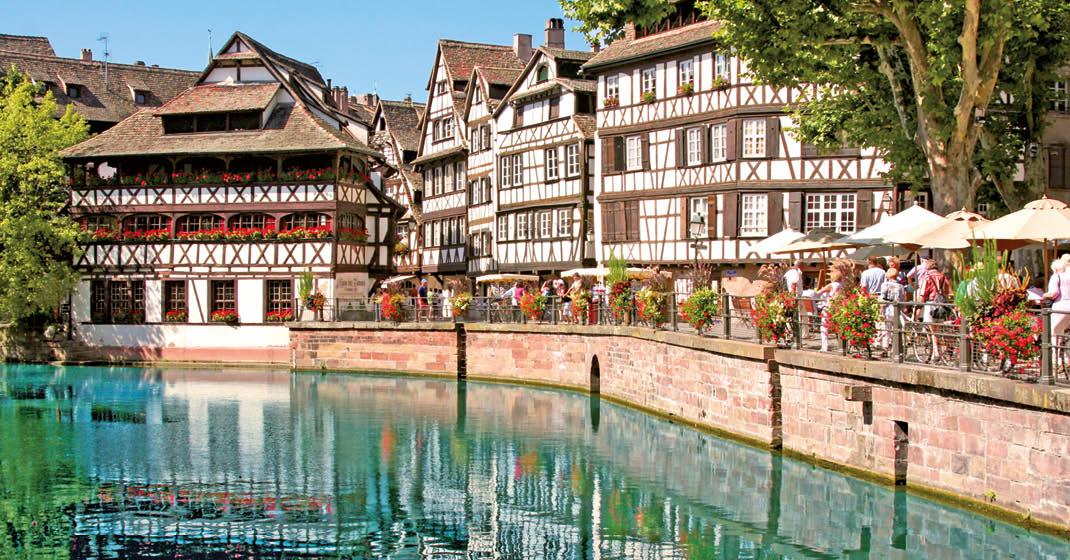 MS RheinPrinzessin_Le Petit France – malerische Altstadt von Straßburg_KF8529