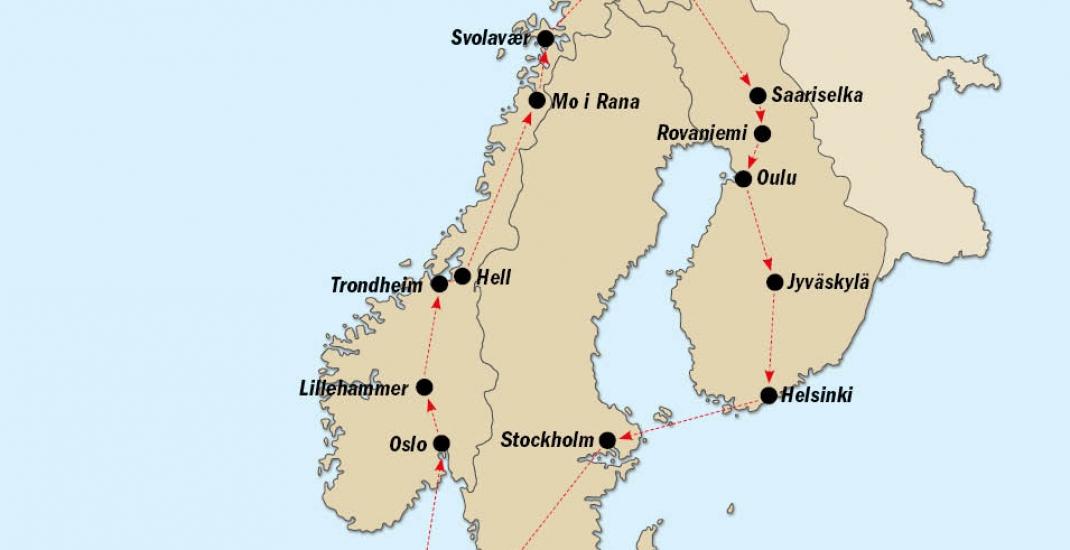 Norwegen_KF8143_Karte