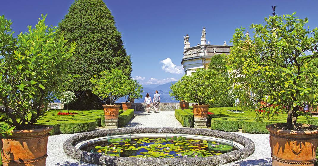 Pflanzen- und Farbenwelt Oberitaliens