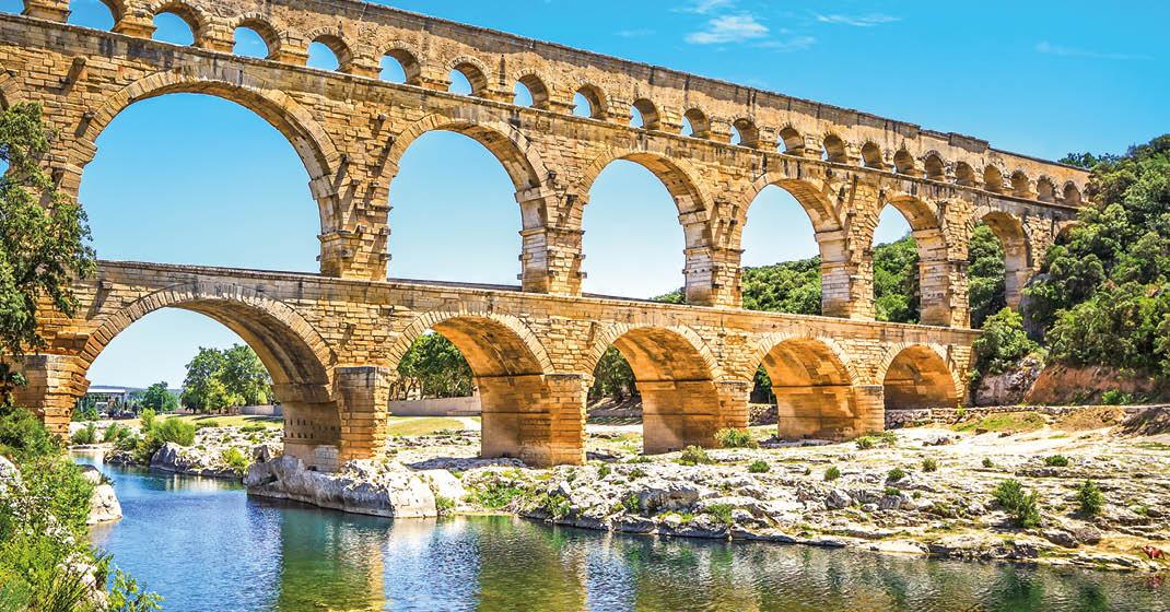 Provence_Camargue_Pont du Gard