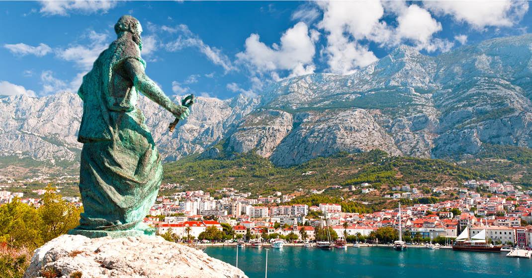 Singlereise_Blick auf Makarska_FL8808