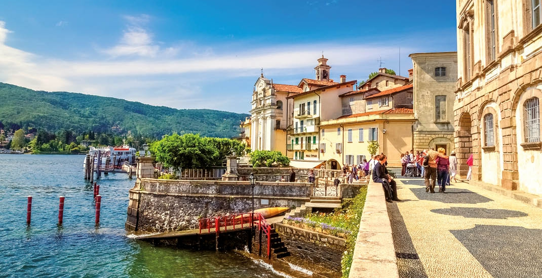 Traumhafte Landschaft Oberitaliens
