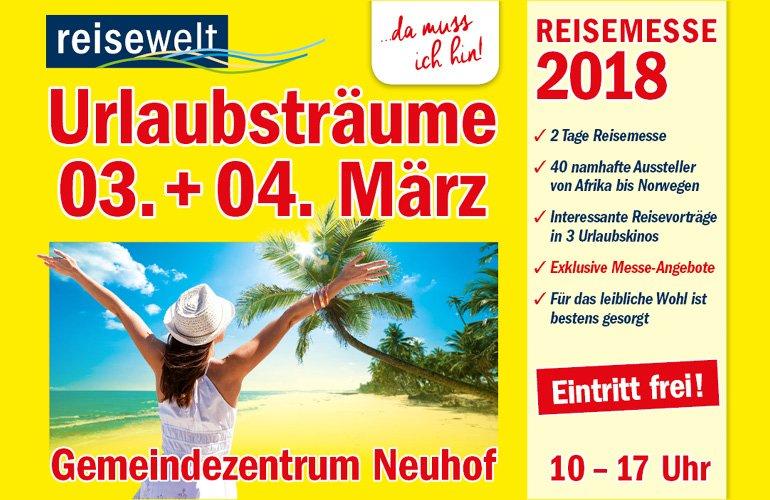 Banner Messe Neuhof, 03. und 04. März 2018