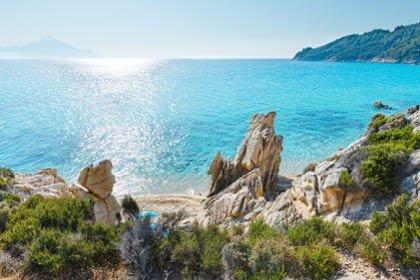 FL8772 Chalki Philoxenia Beitragsbild - GRIECHENLAND Chalkidiki - Urlaub am türkisblauen Meer