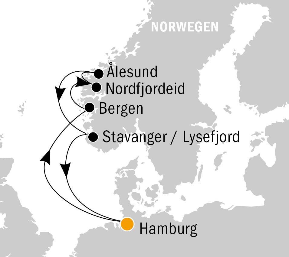 AIDAperla Norden - AIDAperla - Norwegens Naturschönheiten für die ganze Familie