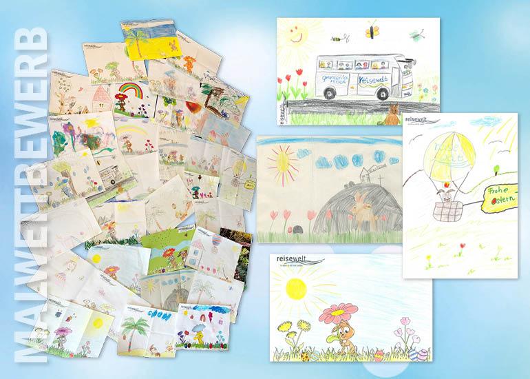 News Malwettbewerb final - reisewelt Malwettbewerb - Wir sagen Danke an die großartigen kleinen Künstler!