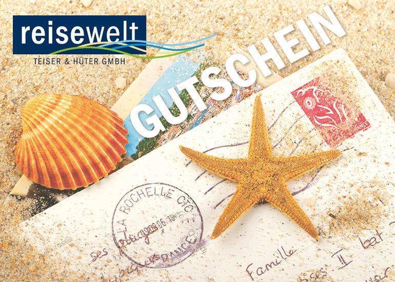 News Reisegutschein - reisewelt-Reisegutscheine in neuem Glanz