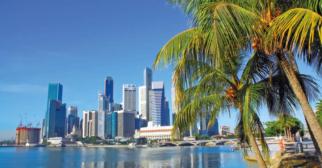 AIDAbella_Blick auf Singapur