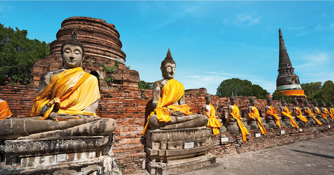 AIDAbella_Tempel in Thailand_