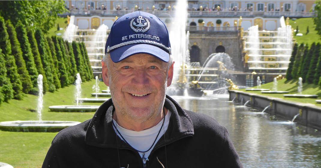 Reiseleiter Bernd Vogler