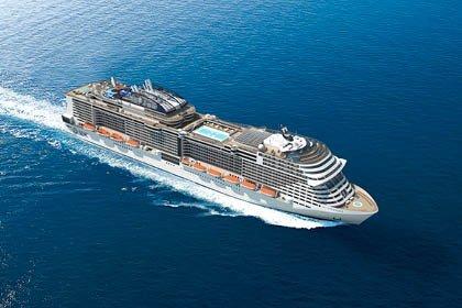 MSC Meraviglia, Schiffsansicht