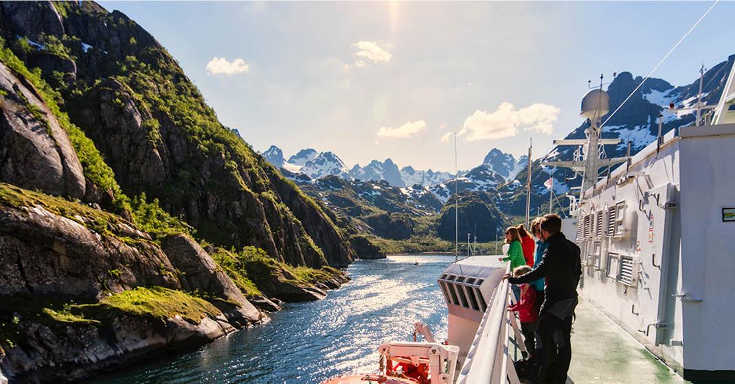 MS Trollfjord KF9131_Sommer mit Hurtigruten
