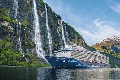 Mein Schiff 4 Norwegen und Nordkap