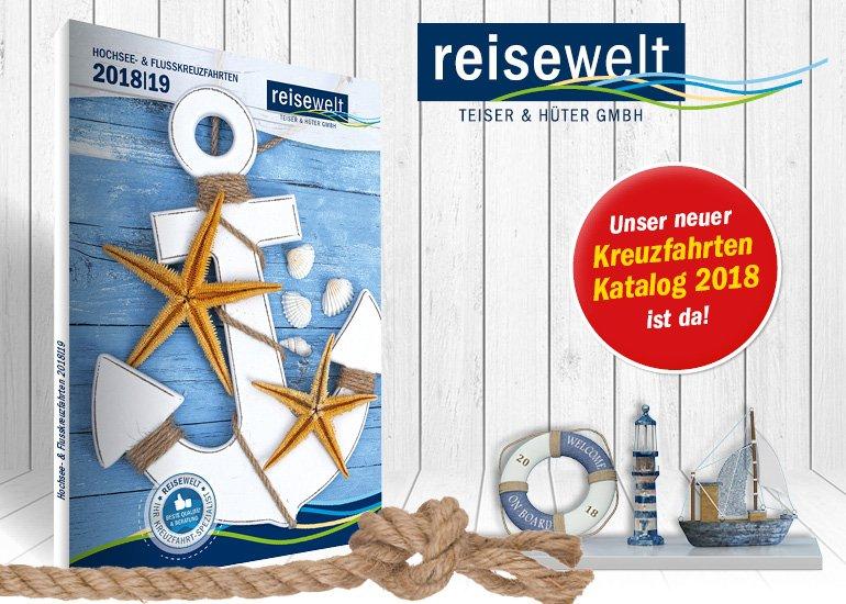 Der neue Kreuzfahrten-Katalog 2018-19 ist da!
