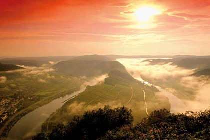 Mosel zum Advent