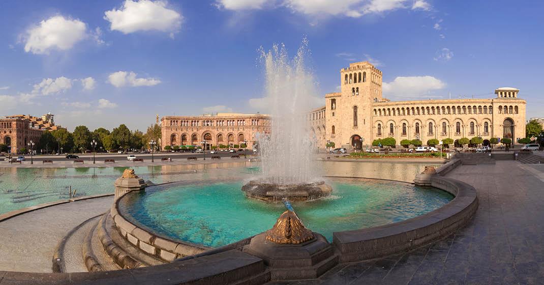 """FL9335_Armenien_Der """"Tanzende Brunnen"""" am Platz der Republik"""