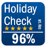 Holiday Check 96%