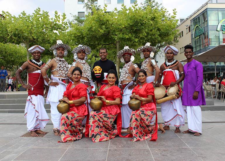 Sri Lanka Kandy Tänzer