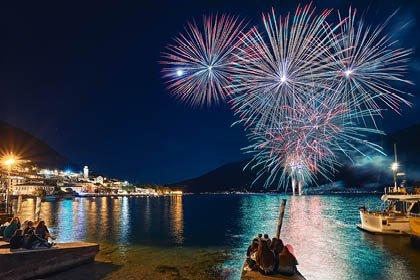 Silvester am Lago Maggiore